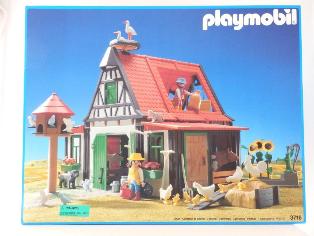 Playmobil 3716 - Farm - Box