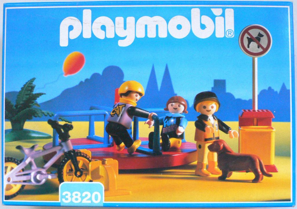 Playmobil 3820 - Modern Merry-Go-Round - Box