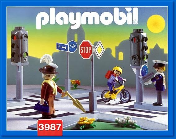 Playmobil 3987 - Intersection - Box