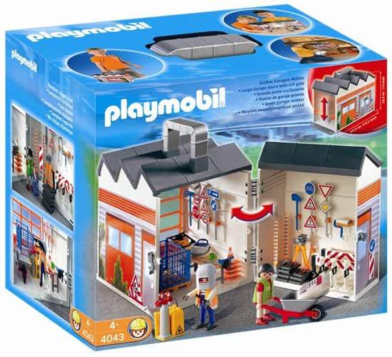 Playmobil 4043 - Take Along Construction - Box
