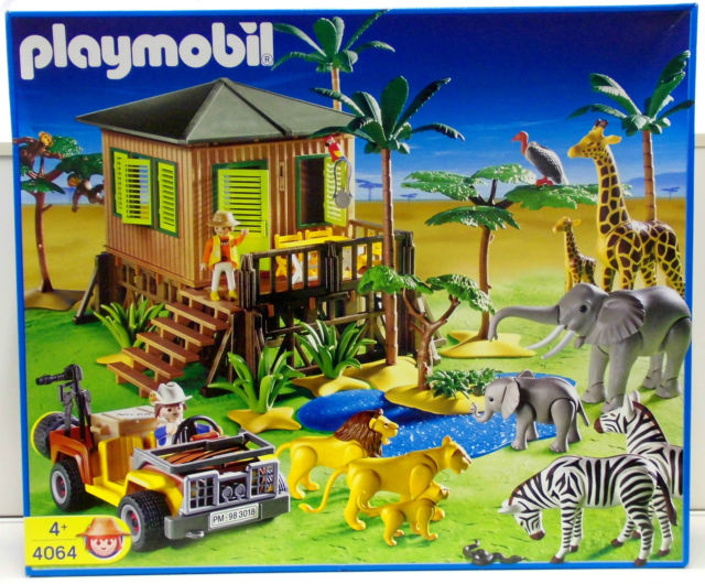 playmobil set 4064 safari set klickypedia. Black Bedroom Furniture Sets. Home Design Ideas