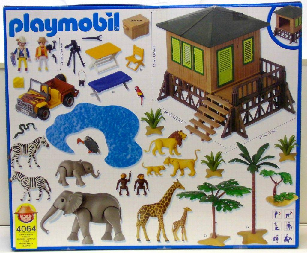 Playmobil 4064 - Safari Set - Back