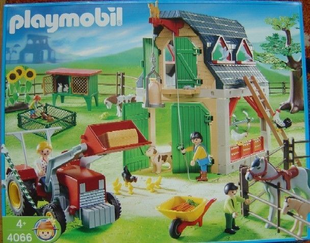 Playmobil 4066-ger - Farm - Box