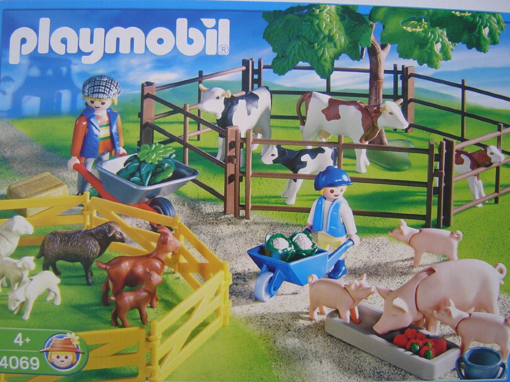 Playmobil 4069-ger - Grazing Animals - Box