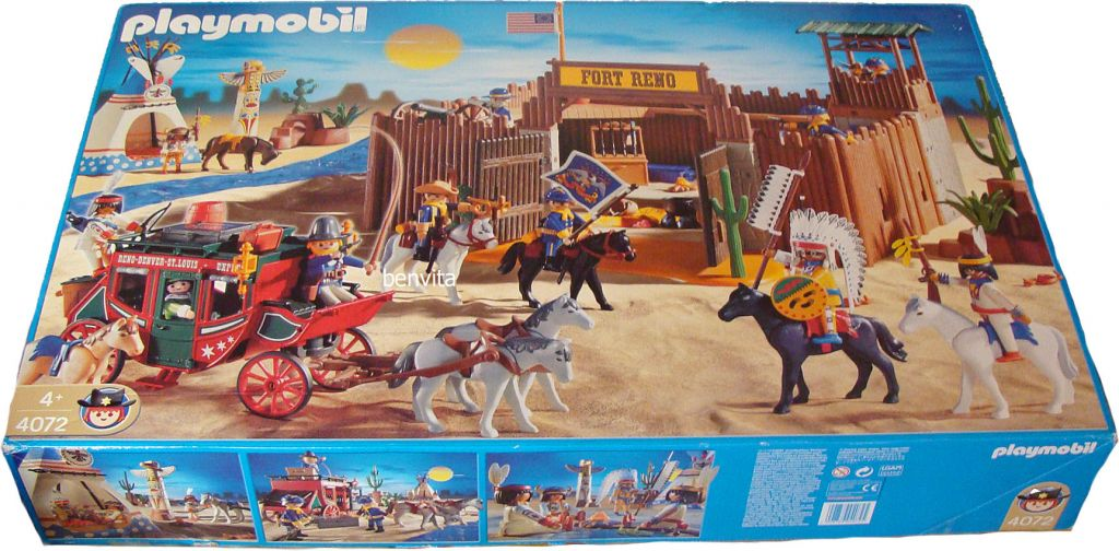 Playmobil 4072 - Fort Reno - Box