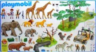 Playmobil 4081 - Mega Safari Set - Back