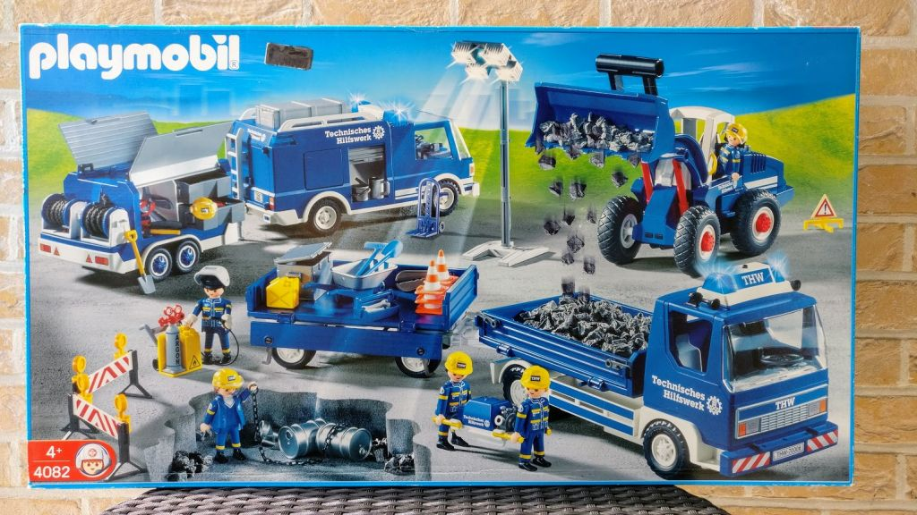 Playmobil 4082 - THW Mega Set - Box