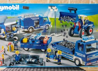 Playmobil - 4082 - THW Mega Set