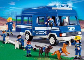 Playmobil - 4088 - THW Bus