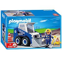 Playmobil 4089 - THW Bobcat - Box
