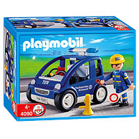Playmobil 4090 - THW Car - Box