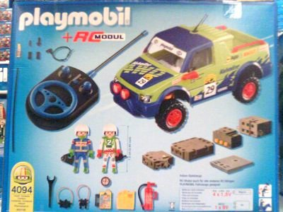 Playmobil 4094 - RC Rally Truck - Back
