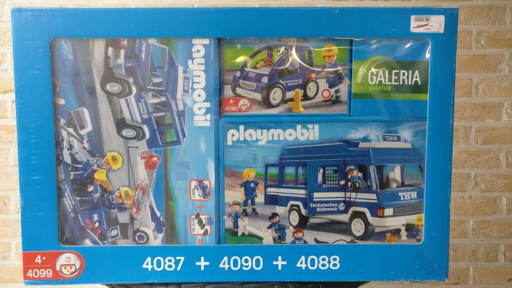 Playmobil 4099-ger - THW Combination Set - Box