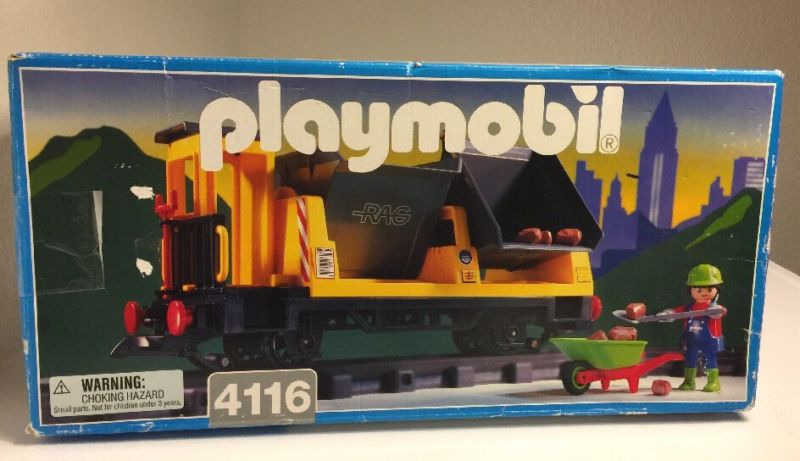 Playmobil 4116 - Tipper Car - Box