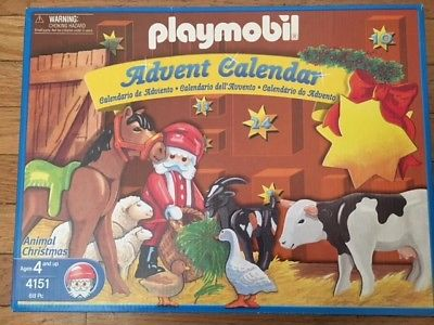 Playmobil 4151 - Animals' Christmas - Box