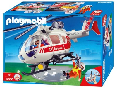 Playmobil 4222 - Medical 'Copter - Box