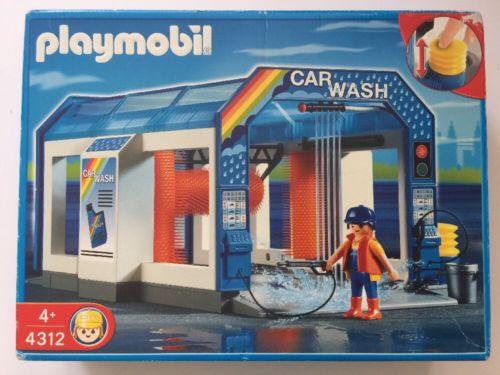 Playmobil 4312 - Autowaschanlage - Box