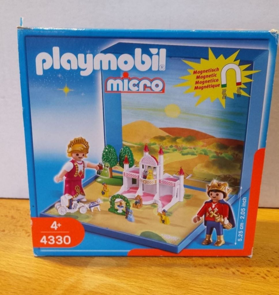 Playmobil 4330 - Fairy Tale Castle Micro World - Box