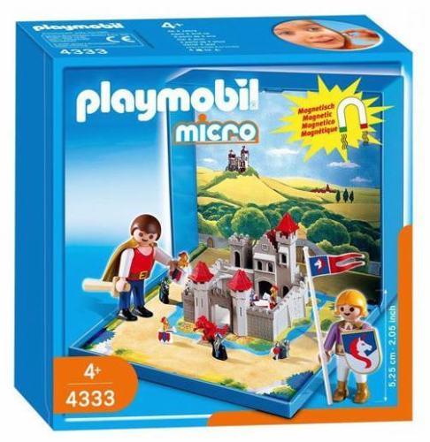 Playmobil 4333 - Knights Castle Micro World - Box