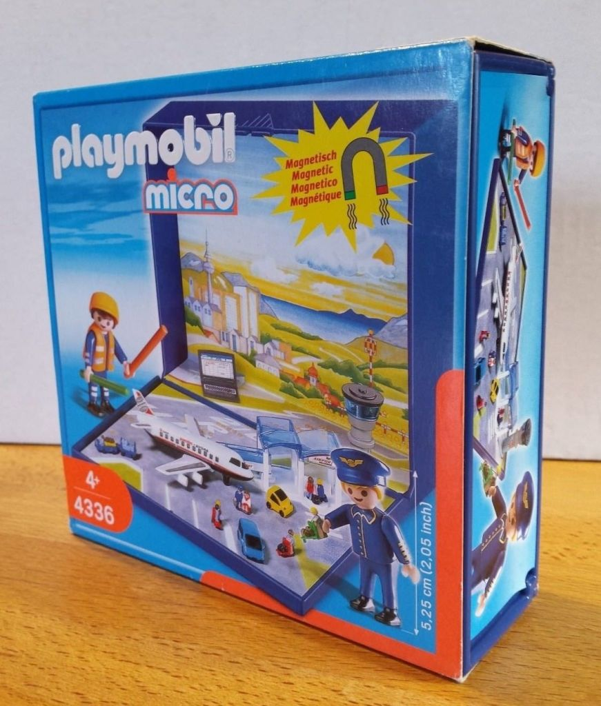 Playmobil 4336 - Airport Micro World - Box