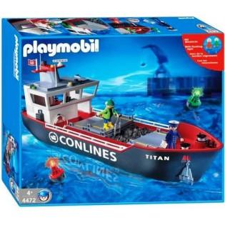 Playmobil 4472 - Cargo Ship - Box