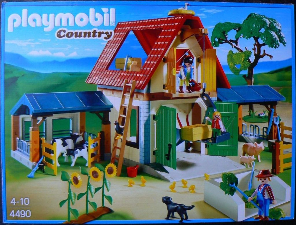 Playmobil 4490 - Animal Farm - Box