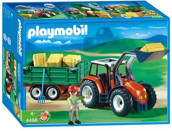 Playmobil 4496-ger - Tractor - Caja