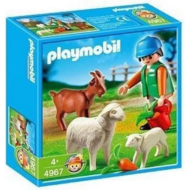 Playmobil 4967 - Farmer Feeding Animals - Box