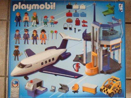 Playmobil 5007 - Airport Mega-Set - Back