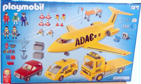Playmobil 5011 - ADAC Mega-Set - Back