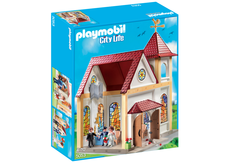 Playmobil 5053 - Romantic Wedding Church - Box