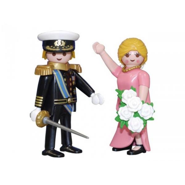 Playmobil 5054-net - Duo Pack Dutch Royal Couple - Back