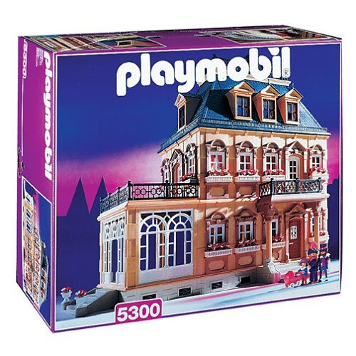Playmobil 5300v3 - Large Victorian Dollhouse - Box