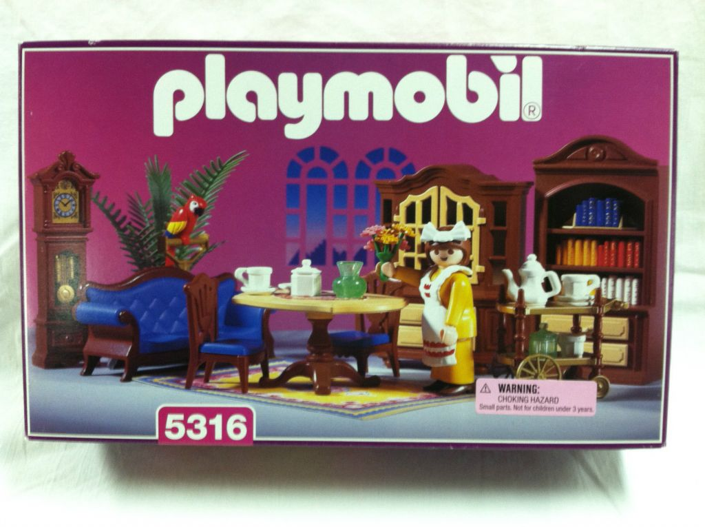 Playmobil 5316 - Blue Dining Room - Box