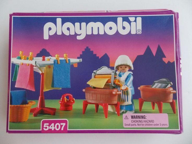 Playmobil 5407 - Washer Woman - Box