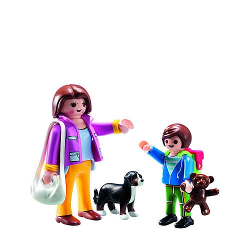 Playmobil 5513 - Duo Pack Mom and Kid - Back