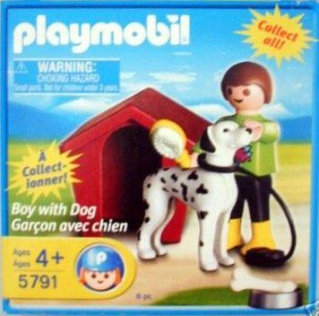 Playmobil 5791 - Boy with Dog - Box