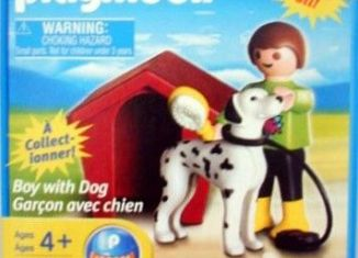 Playmobil - 5791 - Boy with Dog