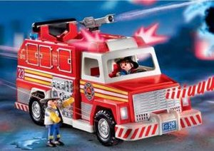 Playmobil - 5843-usa - Fire Truck