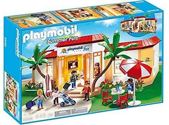 Playmobil 5998 - Tropical Playmobil Inn - Box
