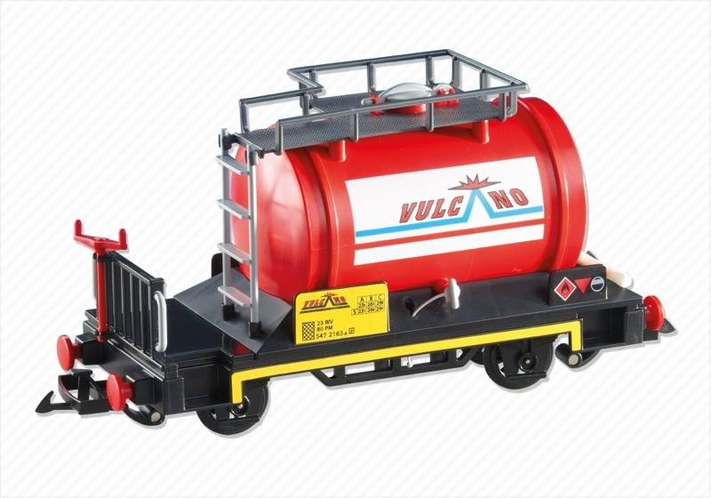 Playmobil 6309 - Tanker Car - Back