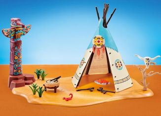 Playmobil - 6582 - Indian tepee