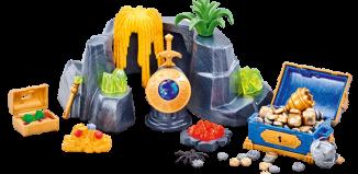 Playmobil - 6594 - Large Treasure Rock Hideout