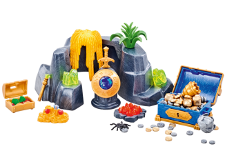 Playmobil - 6594 - Large Treasure Rock Hideout