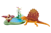 Playmobil - 6596 - Dimetrodon with pond