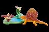 Playmobil - 6596 - Dimetrodon mit Wasserstelle