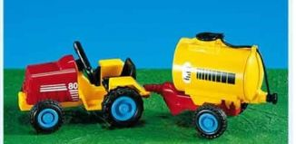 Playmobil - 7754 - Child's Tractor with Tank