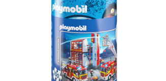 Playmobil - 80012 - Puzzle - Fire Rescue