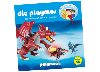 Playmobil - 80041 - Der Wettkampf der Drachenreiter - Folge 58