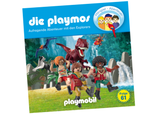 Playmobil - 80083-ger - Dinosaurier (TheExplorers) - Folge 61